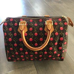 Louis Vuitton Murakami Cherry Cerise Speedy